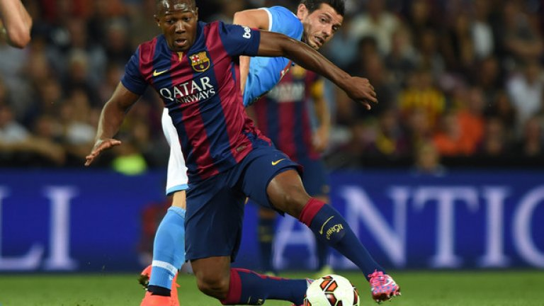 """Адама Траоре се присъединява към школата на Барселона още 8-годишен и прави дебюта си в мъжкия футбол с каталунците. На """"Камп Ноу"""" обаче не му дават шанс да се наложи"""