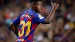 Ансу Фати не успя да се превърне в най-младия футболист, играл за Барселона в цялата история на клуба, заради някакви си 18 дни