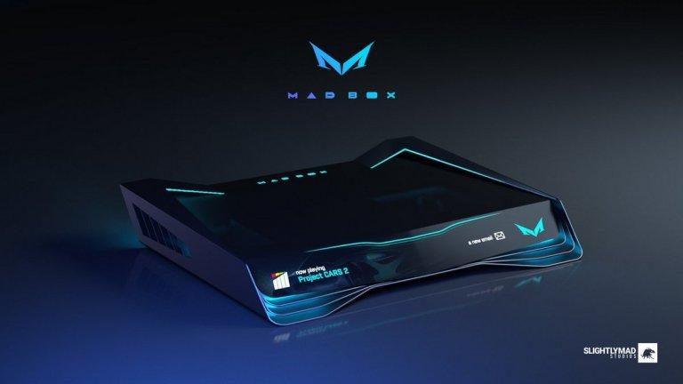 Това е актуалният дизайн, който се разработва за конзолата Mad Box. Проектът е амбициозен, но ще трябва да почакаме поне три години, преди да го видим в действие