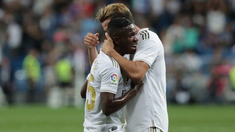 Винисиус даже се разплака след гола си, с който откри резултата