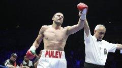 Тервел Пулев не остави никакви шансове на съперника си