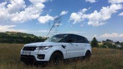 Новият Range Rover Sport дава усещане за надмощие