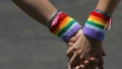 Законът дава на еднополовите двойки същите права като на хетеросексуалните, но без възможност да осиновяват деца