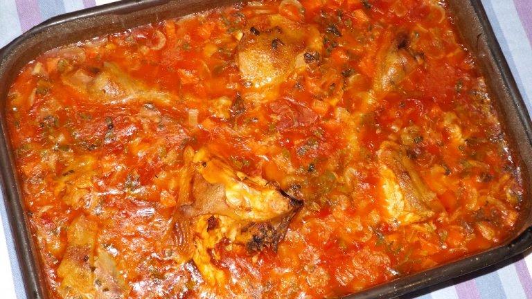 Затова и вероятно рецептата за кокошка с булгур е от най-старите ястия