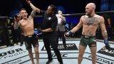 Жесток нокаут свали Конър при завръщането му в UFC (видео)