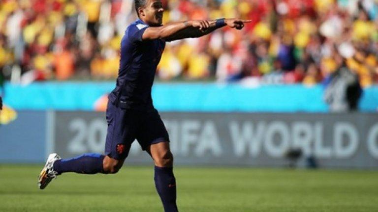 4 Най-младият голмайстор за Холандия на световни футболни финали. Депай вече има 15 мача с оранжевата фланелка, като отбеляза два гола на Мондиала в Бразилия. Първото му попадение дойде при победата с 3:2 над Австралия, с което стана най-младият голмайстор за Холандия на световни първенства. 21-годишният Депай се разписа и при победата с 2:0 над Чили.