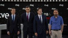 """Кои са """"Големите 5"""" в испанската политика в момента. Кой с какви позиции се очаква да излезе и кой с кого може да се коалира следизборно"""