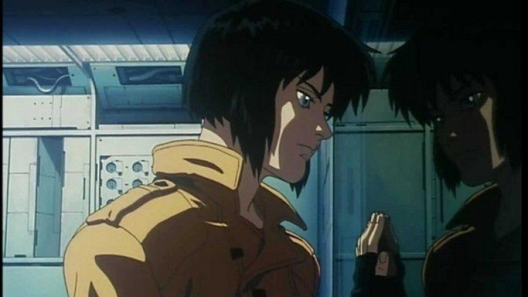Така изглежда Мотоко Кусанаги в анимацията Ghost in the Shell