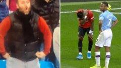 Расистки скандал в дербито на Манчестър: Грозна атака срещу Фред, ще има доживотни наказания (ВИДЕО)