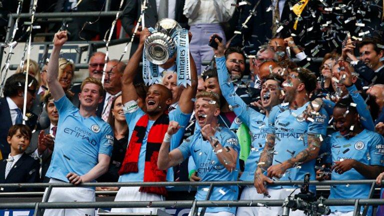 Манчестър Сити продължава защитата на трофея