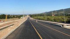 Ремонтираният участът е от 2 км между км 198 и км 200 в област Стара Загора