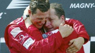 """""""Миналата седмица се видях с Шумахер. Той продължава да се бори"""""""