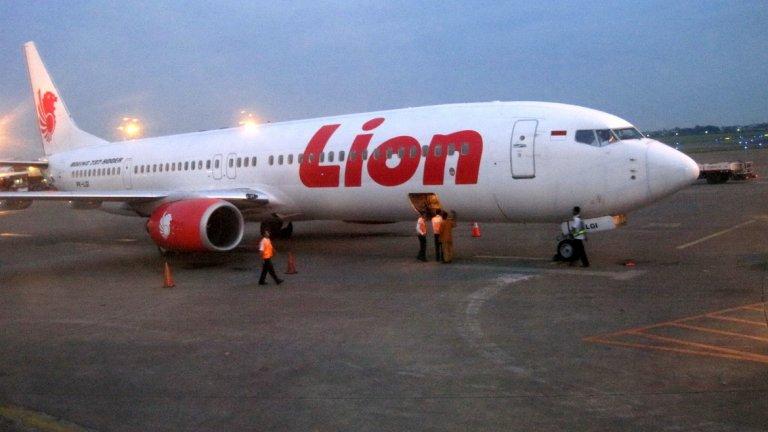 Boeing 737 Max на lion Air