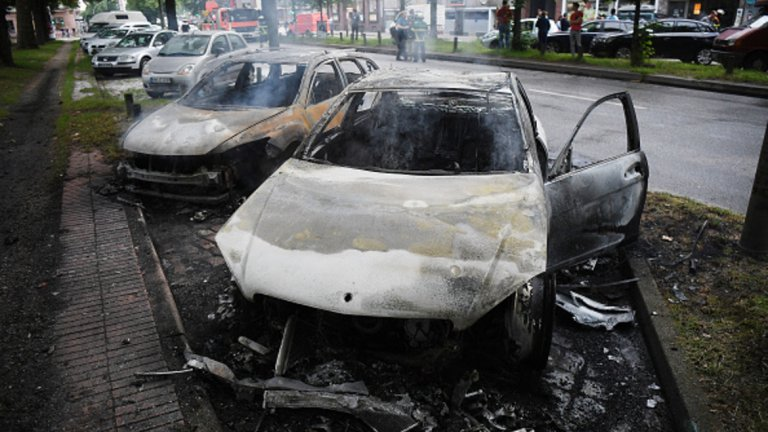 Десетки коли бяха унищожени при погромите