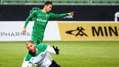 Марселиньо и Якуб Швиерчок отбелязаха по два гола за домакините, а по един добавиха Калудиу Кешерю и Абел Анисе за разгрома на Лудогорец