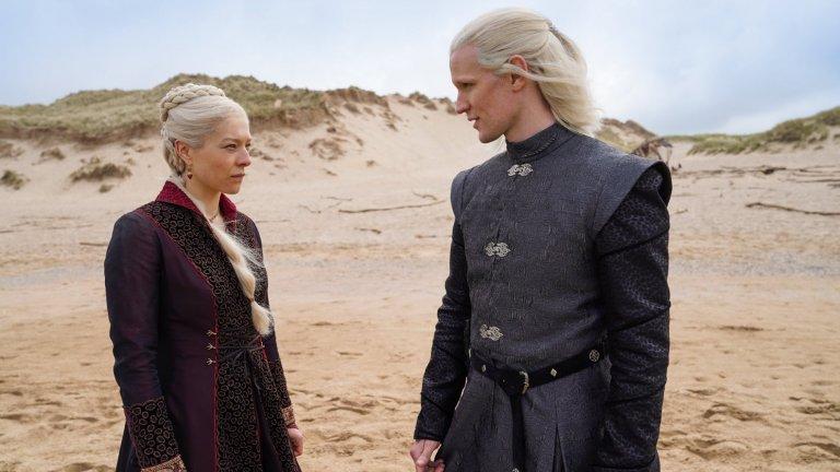 House of the Dragon: Първи кадри от предисторията на Game of Thrones