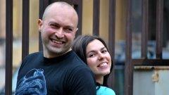 Георги и Виолета - двама души в едно радио без да броим котката