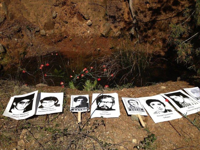Портрети на безследно изчезнали от Колония Дигнидад