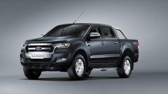 Обновеният Ford Ranger предлага още тяга и комфорт на борда