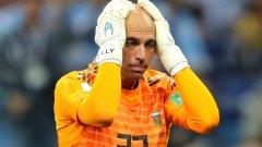 Кабайеро бе сред най-слабите играчи на Аржентина при загубата с 0:3 от Хърватия