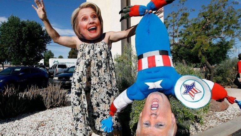 Хилари Клинтън или Доналд Тръмп?