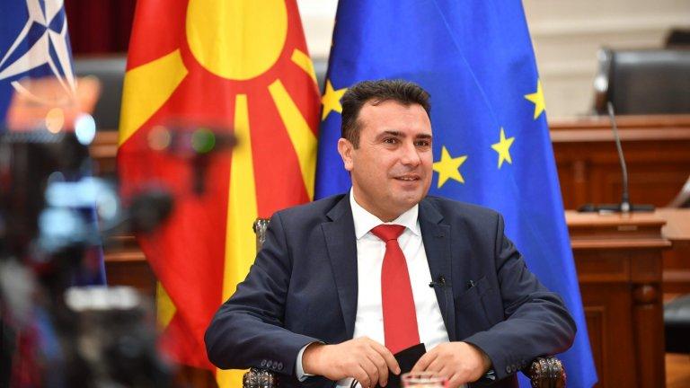 Той отново подчертава, че причините, заради които България възпрепятства членството на Северна Македония в ЕС, са смешни.