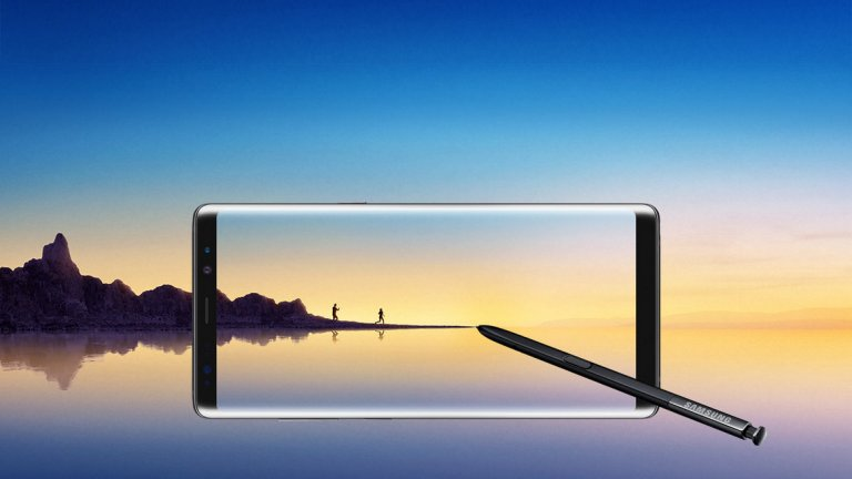 Най-добрият Samsung досега - Galaxy Note 8