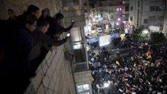 Хиляди палестинци излязоха по улиците, за да празнуват добрана новина от Ню Йорк