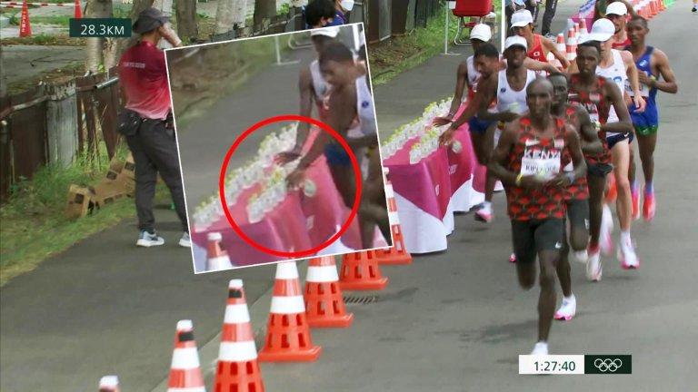 """""""Дайте на този французин златен медал за кретен на Игрите!"""": Грозната постъпка на един маратонец"""