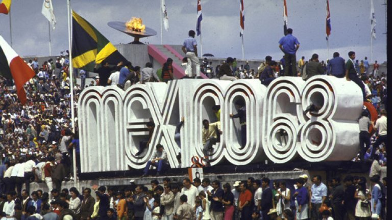 12. Мексико 1968: Първи случай на допинг През 1968 година е първият случай, в който олимпиец дава положителна допинг проба. Това е шведът Ханс-Гунар Лиленуол, чийто бронзов медал в модерния петобой е отнет заради... алкохол.