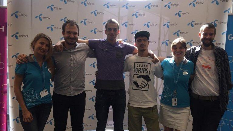 Екипът на VR Express.