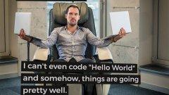 """""""Хората смятат, че щом съм собственик на успешна IT-компания, би трябвало да знам как да пиша код. Не мога да кодна """"Здравей, свят"""", но въпреки това нещата вървят доста добре"""""""