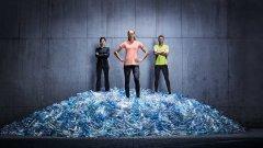 Kaufland е първата национална търговска верига в България, която ще предложи на потребителите спортна колекция текстил, създадена от рециклирани пластмасови бутилки и пластмасов отпадък.