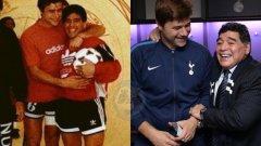 Диего Марадона винаги е бил и винаги ще си остане идолът на Маурисио Почетино