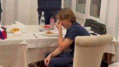 Съотборници просълзиха Модрич след рекорда (видео)