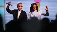 Барак и Мишел Обама сключиха сделка със Spotify