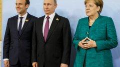 Ангела Меркел пристига в Сочи за среща с Путин