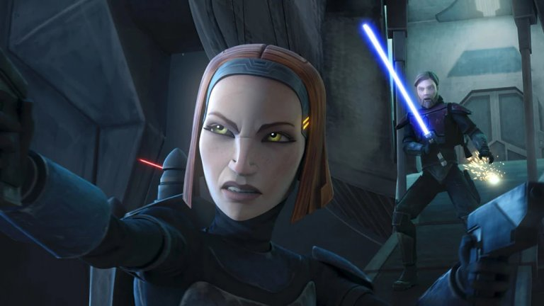 Кого очакваме? Бо-Катан  Друга интересна поява е тази на мандалорския войн Бо-Катан, която също за пръв път се прехвърля от анимационните серии Clone Wars и Rebels към игралния формат. В ролята ще е актрисата Кейти Сакоф (Battlestar Galactica), която озвучава Бо-Катан в анимационния оригинал.