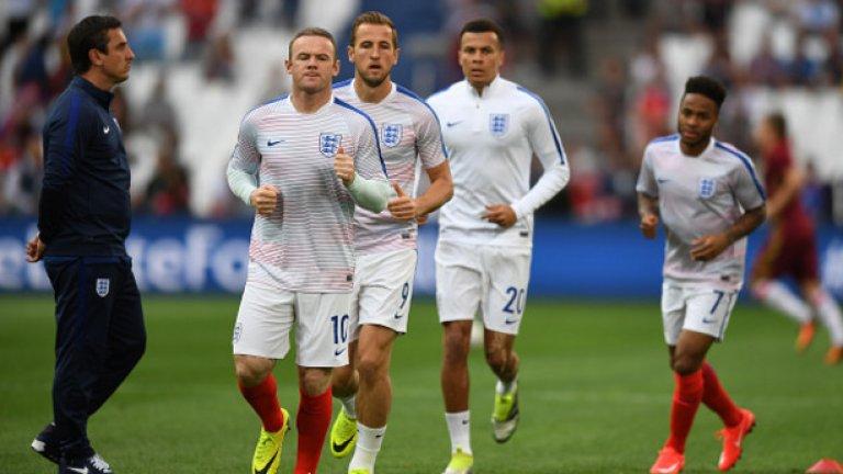 """Англия е единственият отбор, който спечели всички мачове от квалификациите (10/10). """"Трите лъва"""" обаче не успяха да пренесат добрата си форма на старта на форума, където направиха равенство с Русия 1:1."""