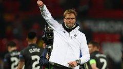 Юрген Клоп триумфира в Лига Европа, но загуби единствения си сблъсък с Юнайтед във Висшата лига досега...