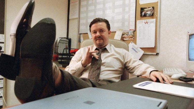 """Джървейс стана популярен с британското шоу """"Офисът"""", което след това се сдоби и с американска версия."""