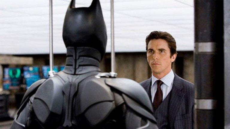 """Крисчън Бейл от своя страна може би вече е изкарал Батман от системата си, след като изигра ролята в трилогията """"Черния рицар"""" на Кристофър Нолан (2005-2012 г.). Има информация, че той преговаря с Marvel за участие в техен филм."""