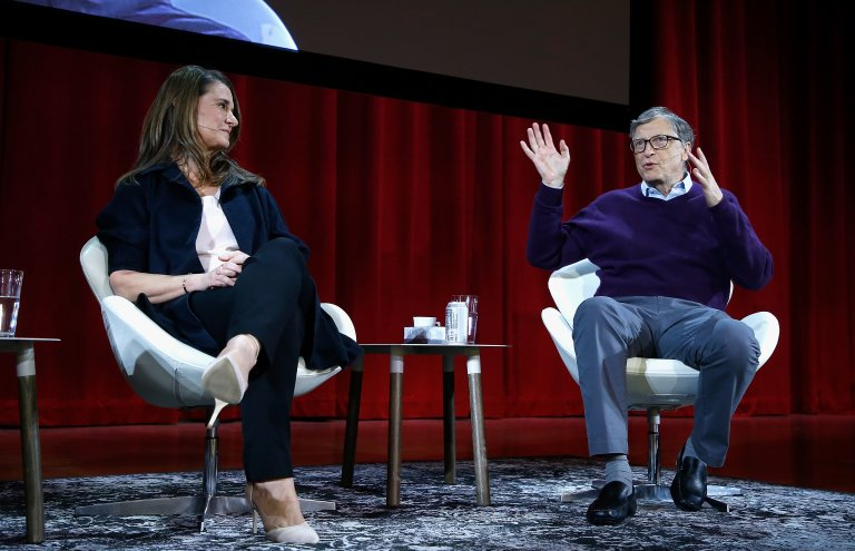 Мелинда и Бил Гейтс