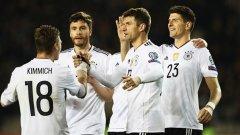 Германия крачи уверено към Мондиал 2018