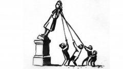 Премахването на статуята на бял търговец на роби в Бристъл накара артиста да даде компромисно предложение