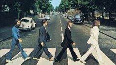 Обложката на предпоследния албум на The Beatles, наречен Abbey Road. В лондонското студио ливърпулската четворка и техният музикален продуцент Джордж Мартин променят хода на музикалното изкуство