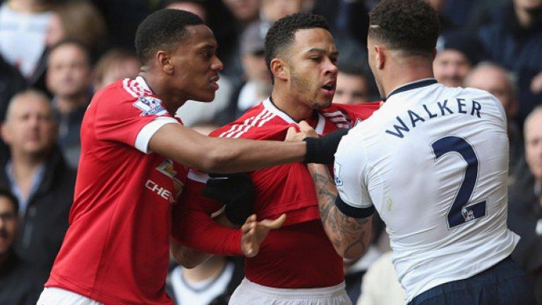 Последната среща между двата тима бе изпълнена с много страсти, а Тотнъм спечели с 3:0...