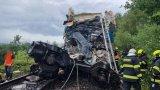 Международен експрес се е ударил в пътническа композиция край град Пилзен