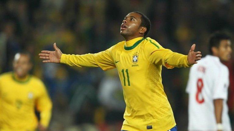 Робиньо е една от надеждите на Бразилия