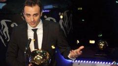 Въпреки малкия си брой мачове през 2011 г. Димитър Бербатов отново получи номинация за Спортист на годината